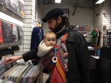 Browse around the vinyl store